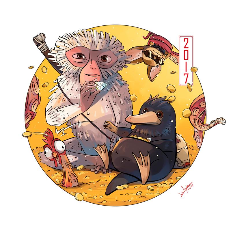 Happy Chinese New Year by waynebridge