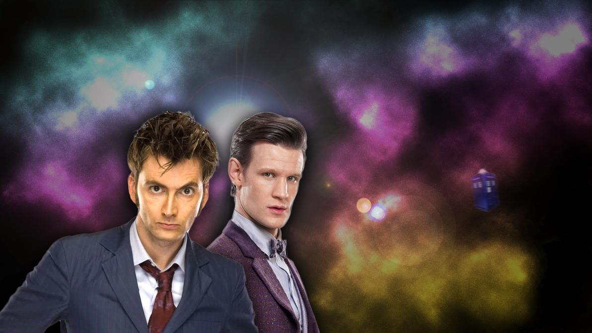Doctor Who Matt Smith And David Tennant