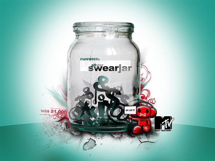 MTV Swear Jar by scottrichardson