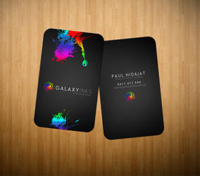 Galaxy Inks Logo and Cards