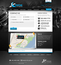 Xtreme Fitness Contact Page
