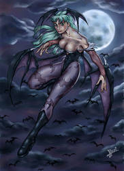 Morrigan by HecM by The-Darkstalkers