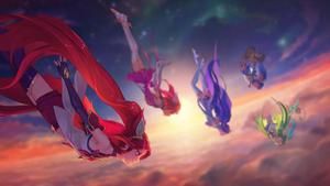 Star Guardians (Jinx Focus) by W0LVEMAN