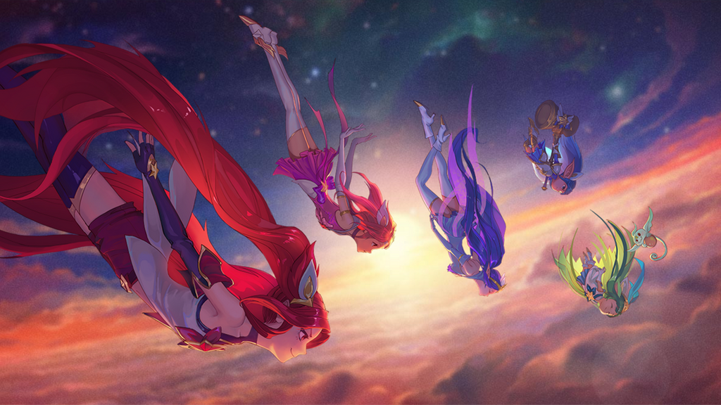 Star Guardians by W0LVEMAN