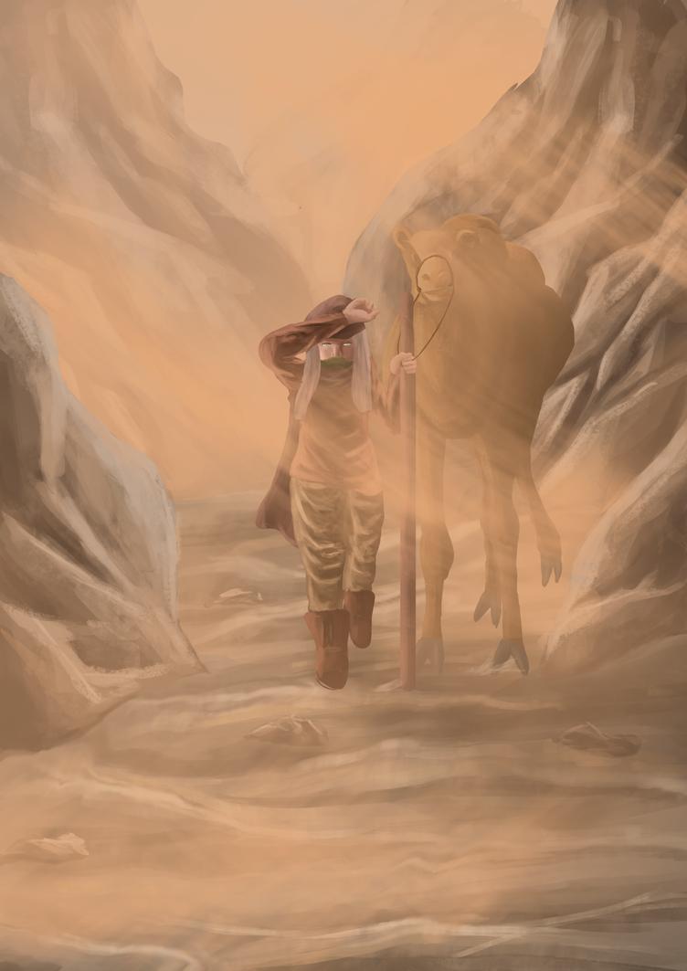 Desert traveller by lixlat