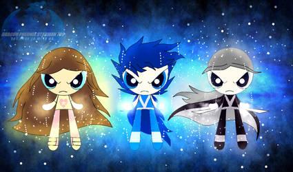 Gift - Trio Ultra Instincts by PheonixStarman