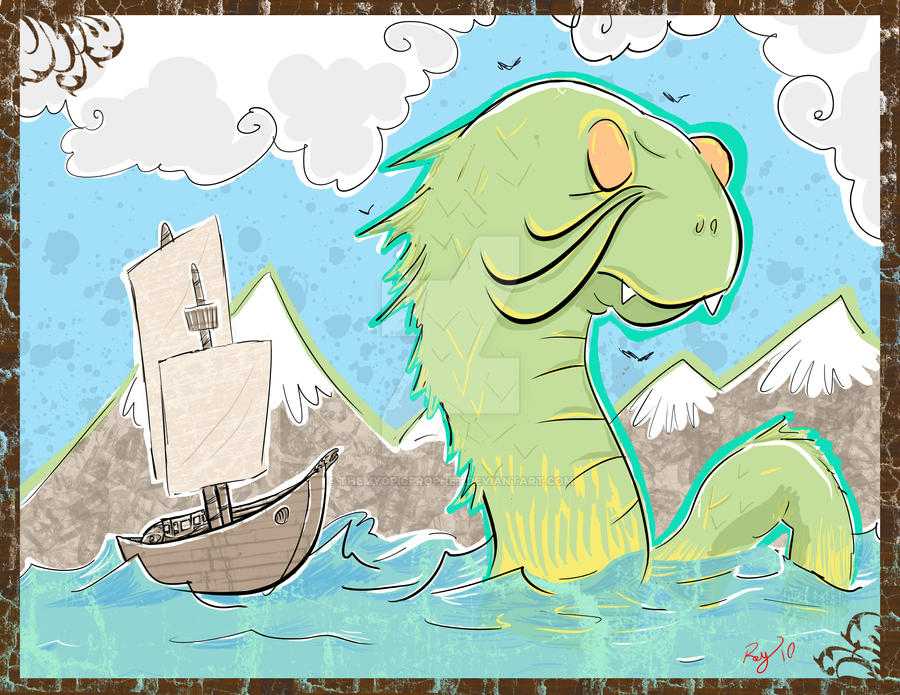 seamonster by TheMyopicProphet