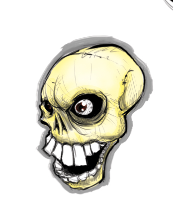 skull by TheMyopicProphet