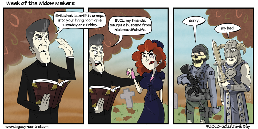 Week of the Widow Makers by TheMyopicProphet
