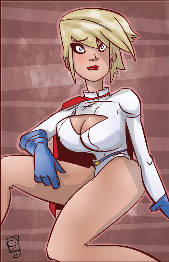 PowerGirl by TheMyopicProphet