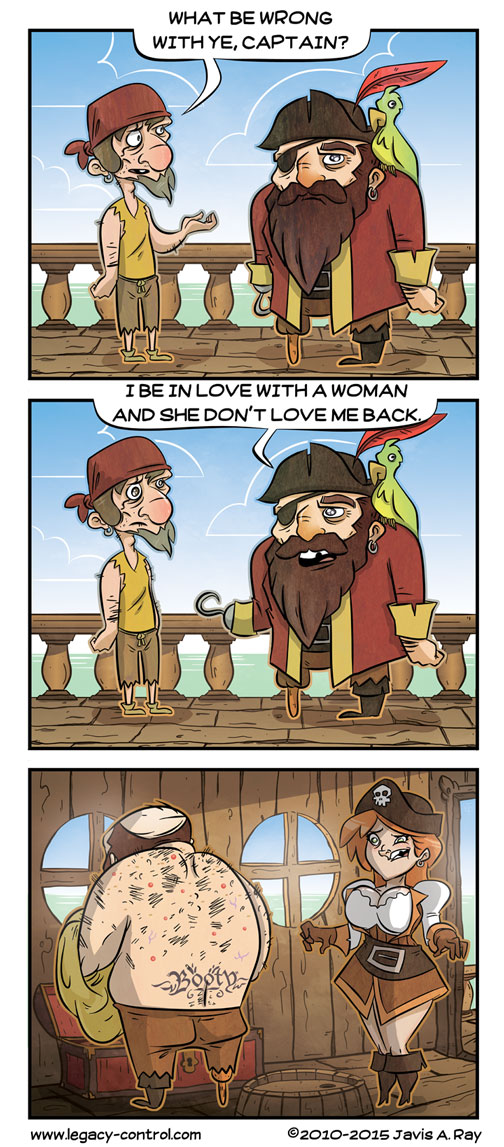 Pirate Problems by TheMyopicProphet