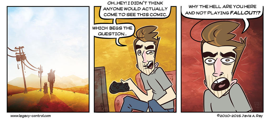 The Best Fallout 4 Comic Ever! by TheMyopicProphet