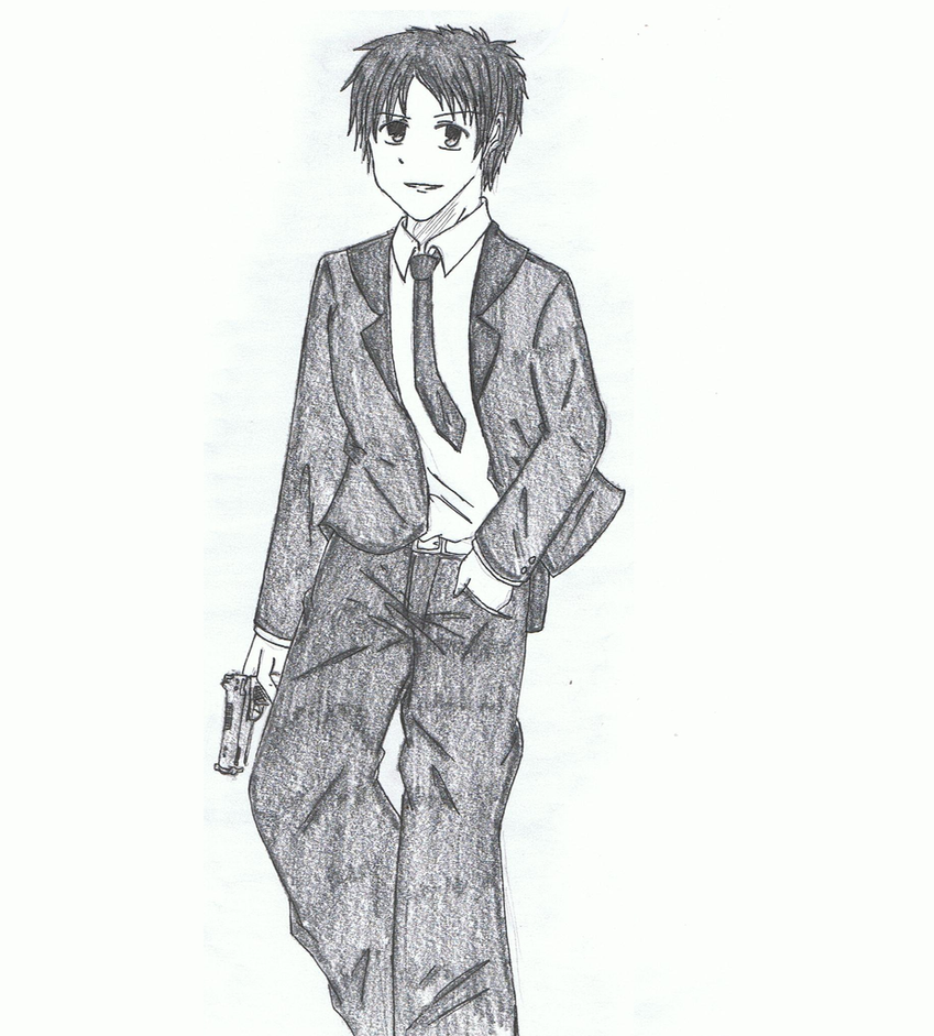 Adachi Tohru by ShinigamiNeko92