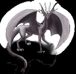 dragon by MoonRayDreiko
