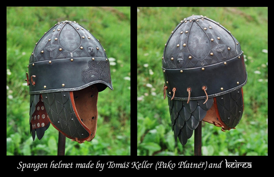 Finished spangenhelm by Keirea