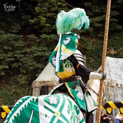 Green unicorn