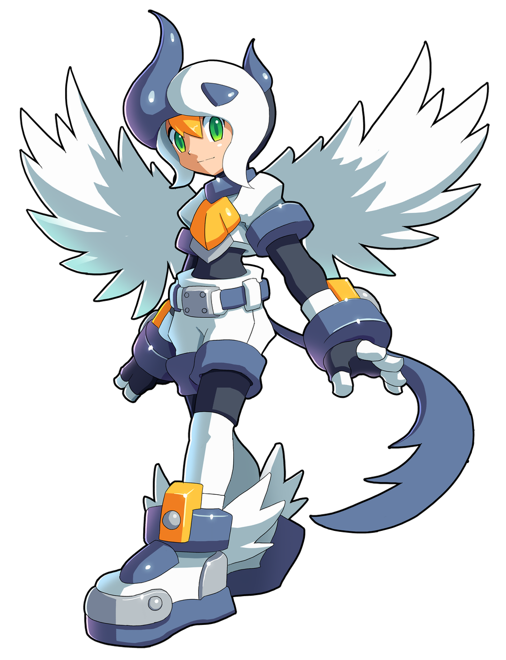 Roll [Legends] - (Fusion) - Absol [With helmet] by V-a-a-N
