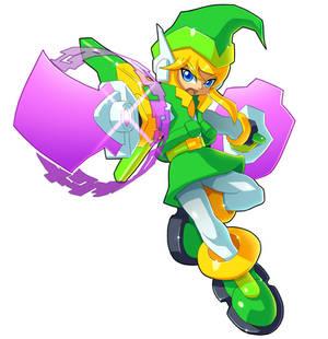 Mega Man w/ Link