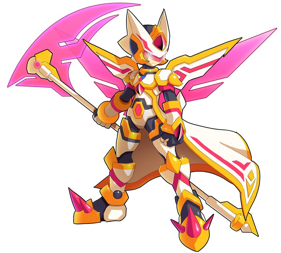 Mega Man: Type-Scythe by V-a-a-N