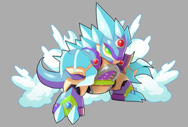 Chill Penguin And Alolan Sand Slash Fusion by V-a-a-N