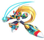 Mega Man Zero No.66 (w Helmet Upgrade) [Final] by FurryishArt