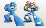 Mega Man: Dread Suit (Final) by FurryishArt