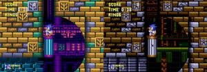 Sonic 3 - Hydrocity zone bad future (Mockup)