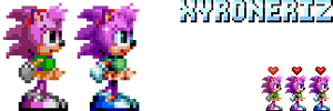 Sonic Mania - Amy Rose