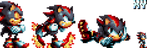 Sonic Mania - Shadow sprites