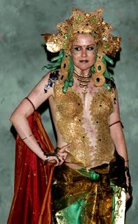 Bollywood Medusa by sadwonderland