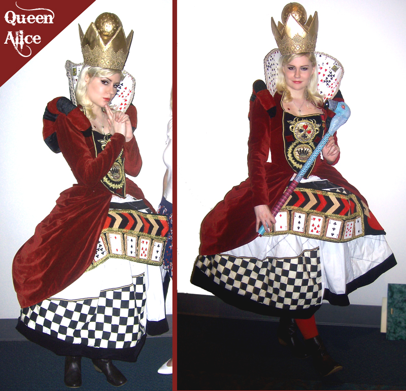 Queen Alice Cosplay by sadwonderland