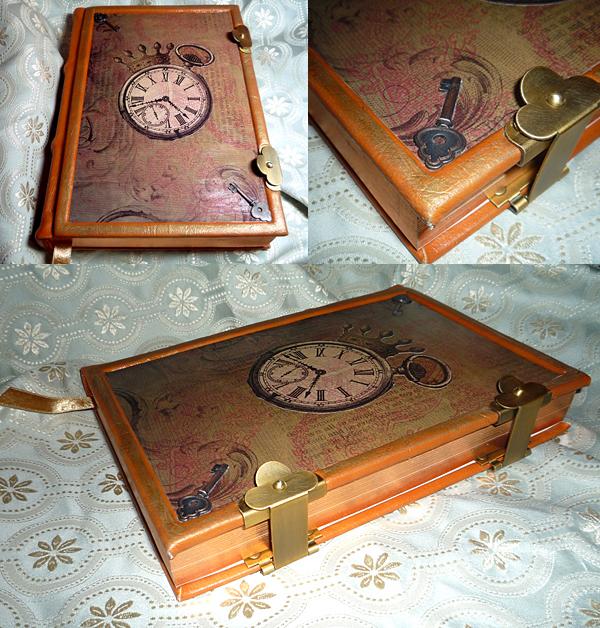 Tock Steampunk Journal by sadwonderland