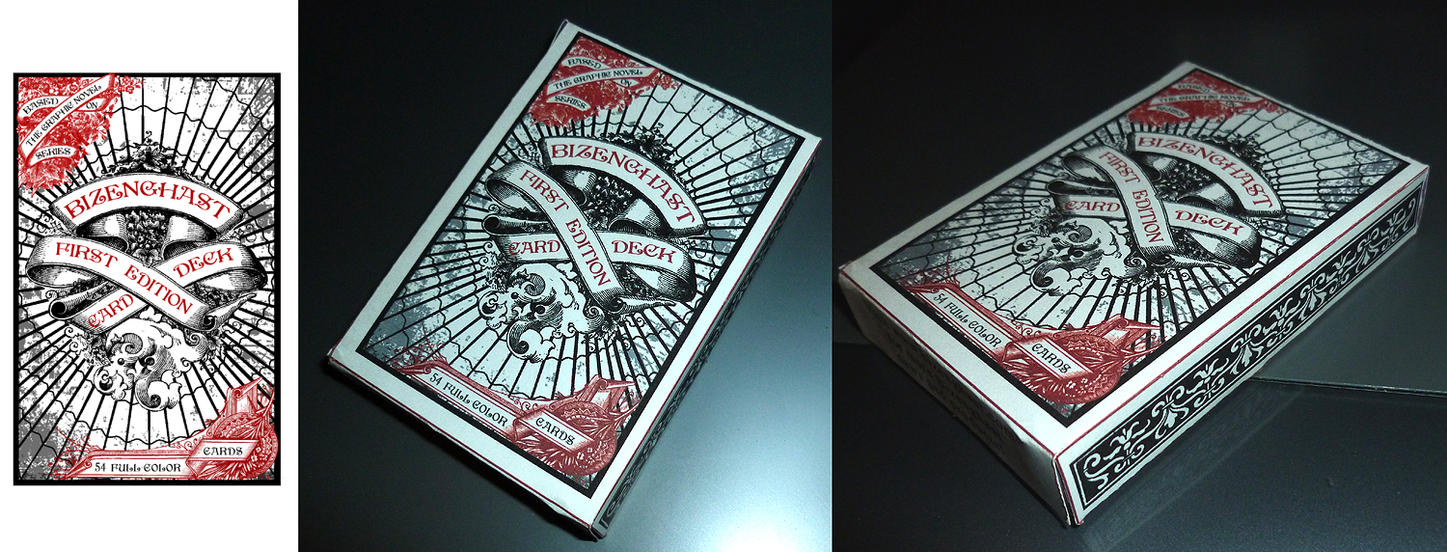 Bizenghast Card Box by sadwonderland