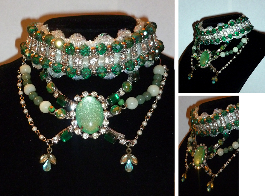 The Emerald City Necklace by sadwonderland