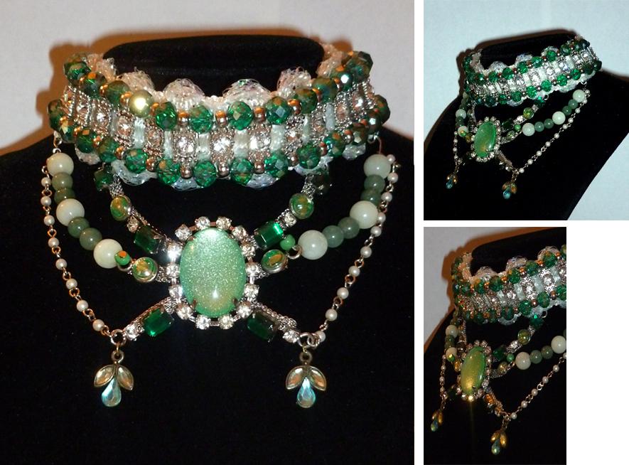 The Emerald City Necklace by sadwonderland