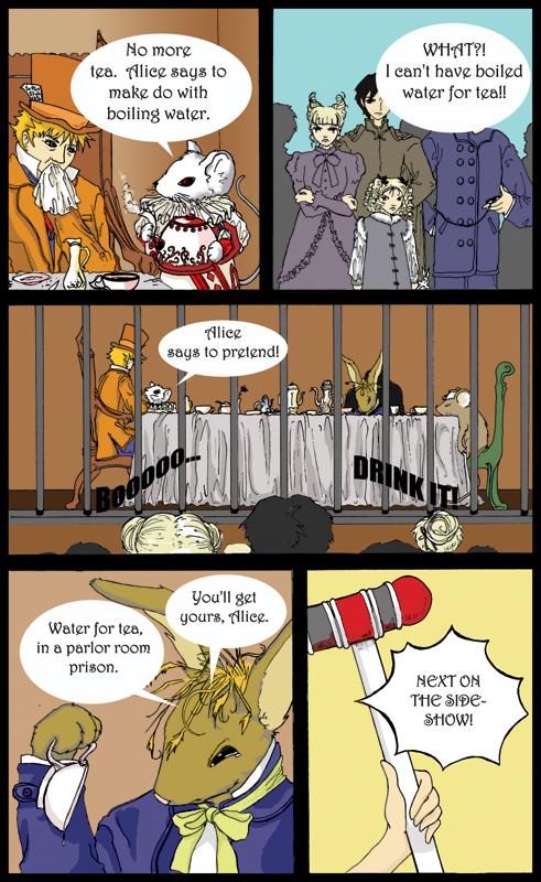 Ringmaster Alice pg 1 by sadwonderland