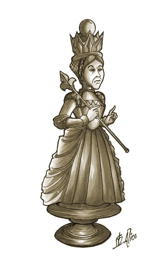 RA: White Queen by sadwonderland