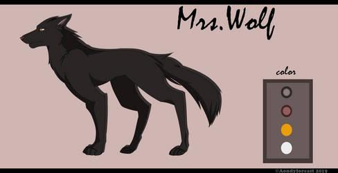 Mrs.Wolf  [Reference sheet]