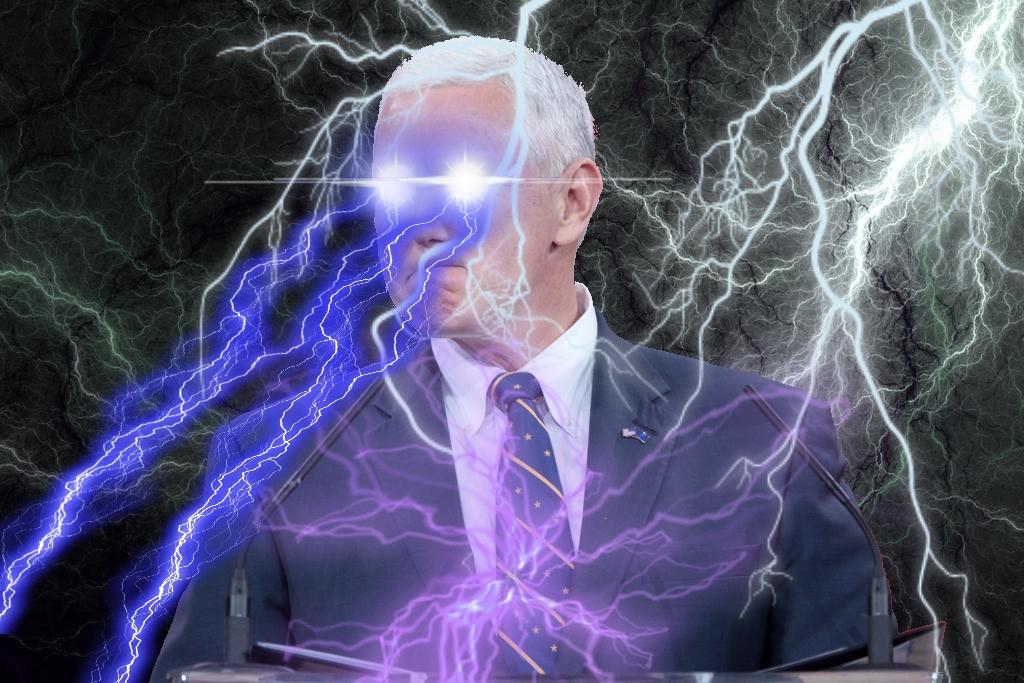 Mike Deus Volt Pence by inkoalawetrust