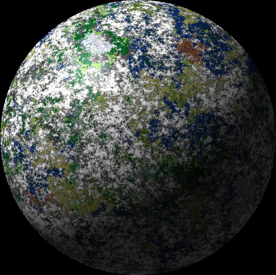 Super-Earth World by inkoalawetrust