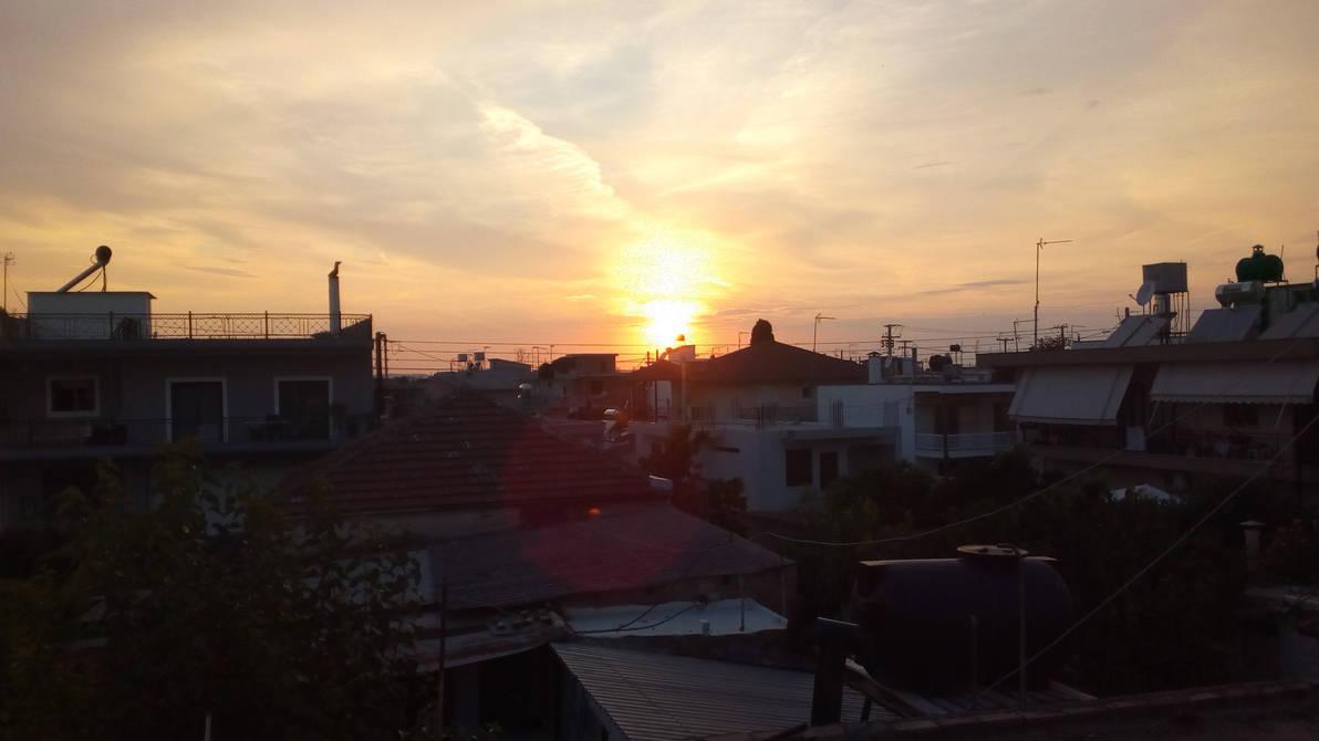 Sunset by inkoalawetrust