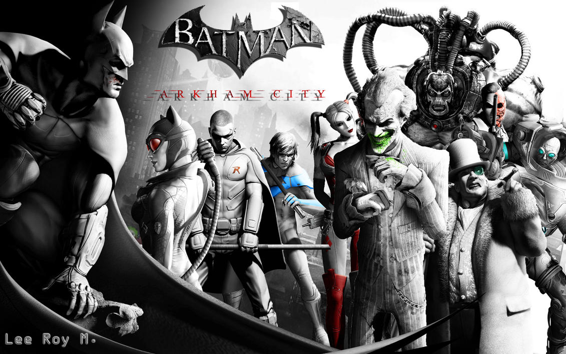 batman arkham cityleeroym on deviantart