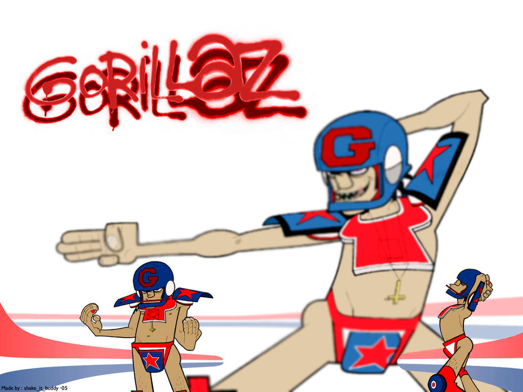 Gorillaz Rock The House 28 Images Pin Images Of Gokila