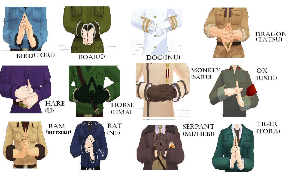 MMD Naruto Hand signs by ArtisanExplosion96 on DeviantArt
