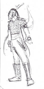 Sketch Idea: Human Elementalist