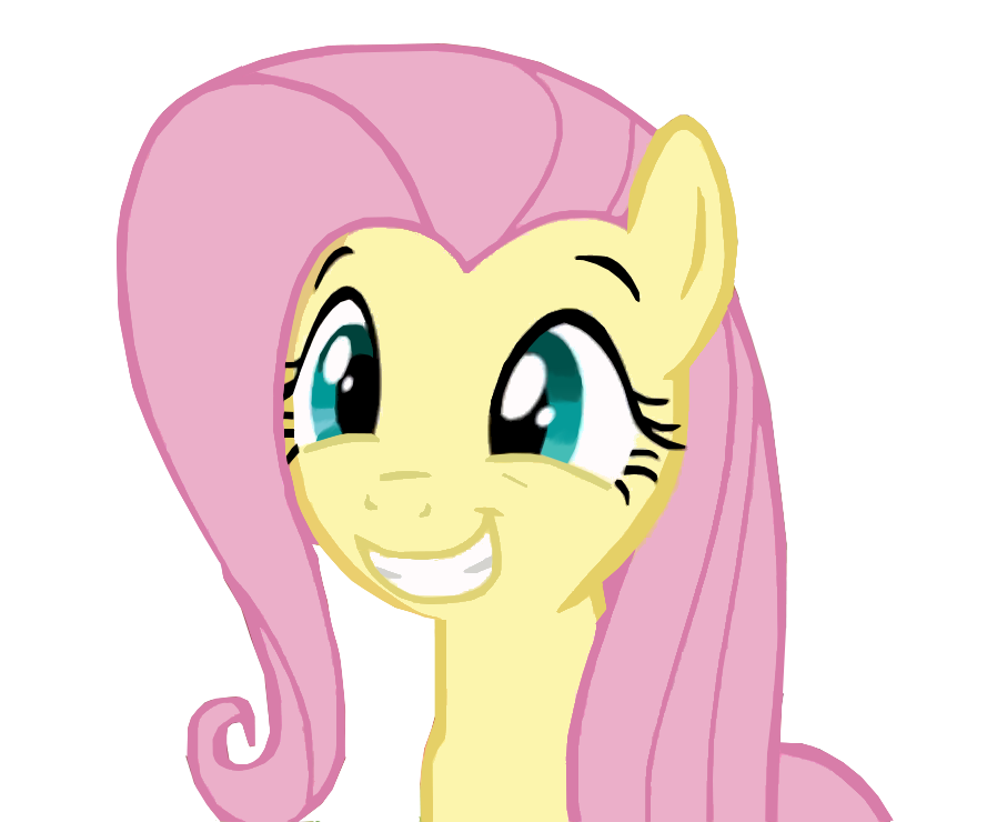 Fluttershy Squee by dva4695 on deviantART