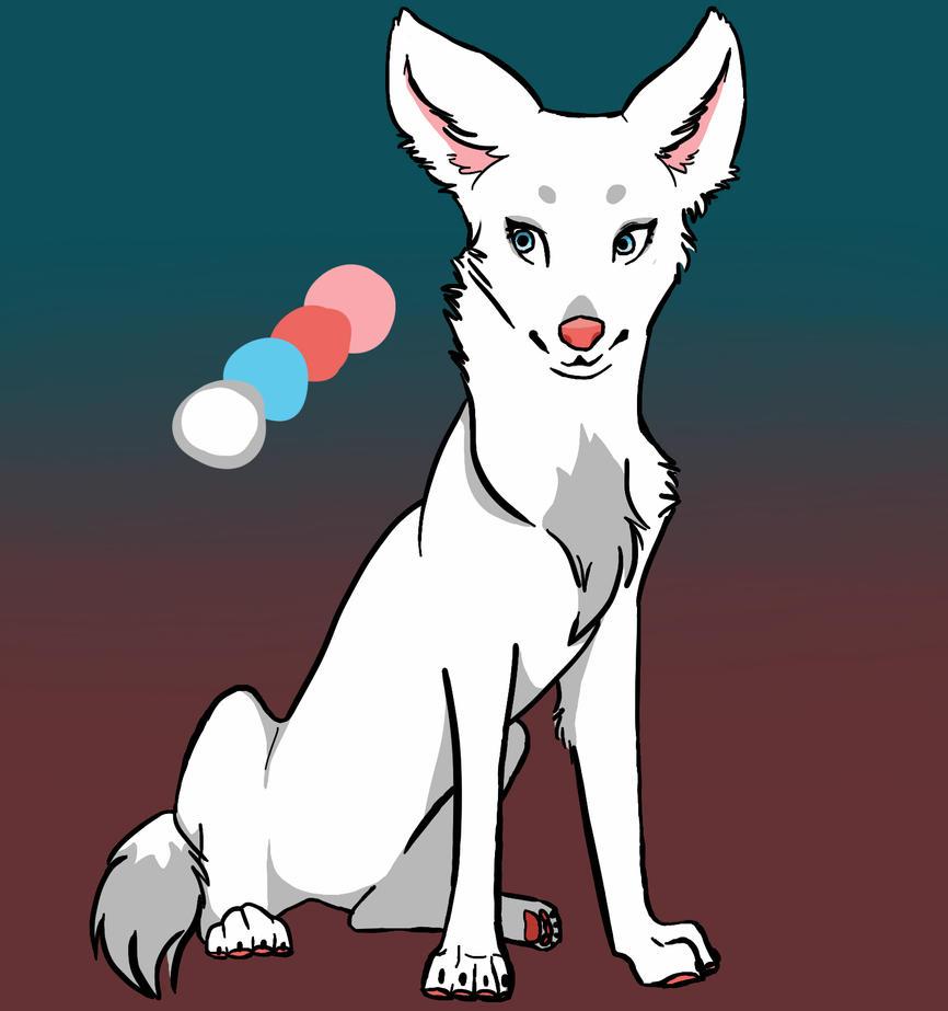 Wolf lady by DenaDrawingHorses