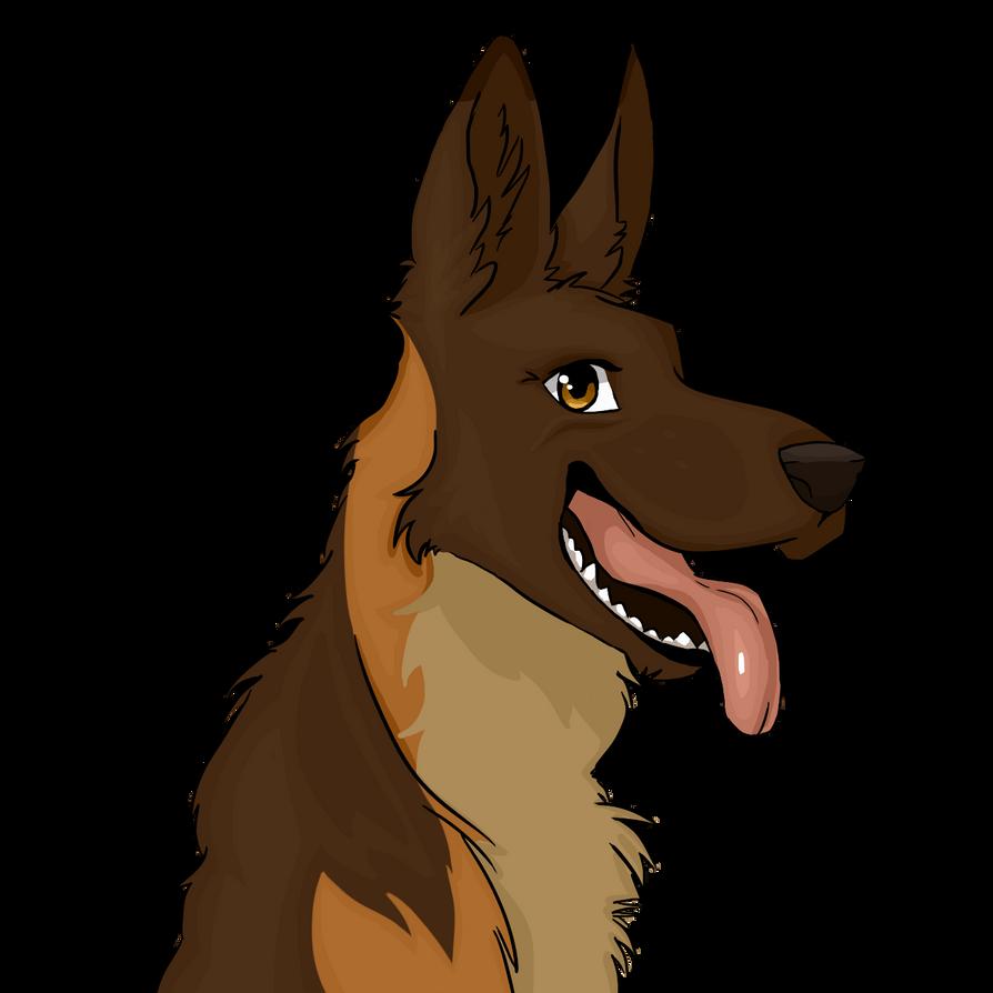 German Shepherd 2 by DenaDrawingHorses