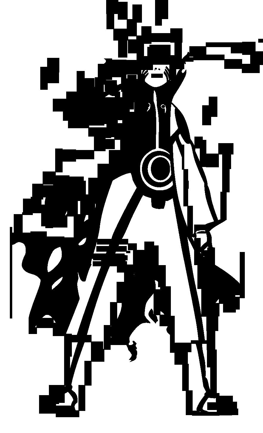 Naruto Lineart : Naruto line art by mardon on deviantart