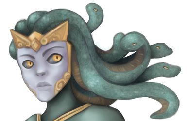 Smite: Medusa, the Gorgon by KaigaraProjects